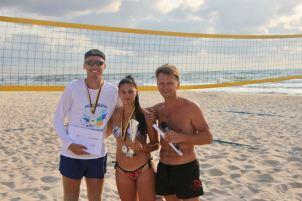 Neringa FM Beachball FEST 21 II vieta mix turnyras - Brigita Kuncevičiūtė ir Julius Būtėnas