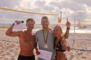 Neringa FM Beachball FEST 21 mix nugalėtojai - Indrė Pretkelytė ir Vilius Bikneris