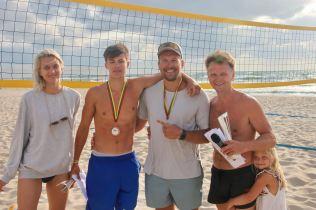 Beachball fest 21 III vieta - Paulius Žilvitis ir Saulius Vilkelis