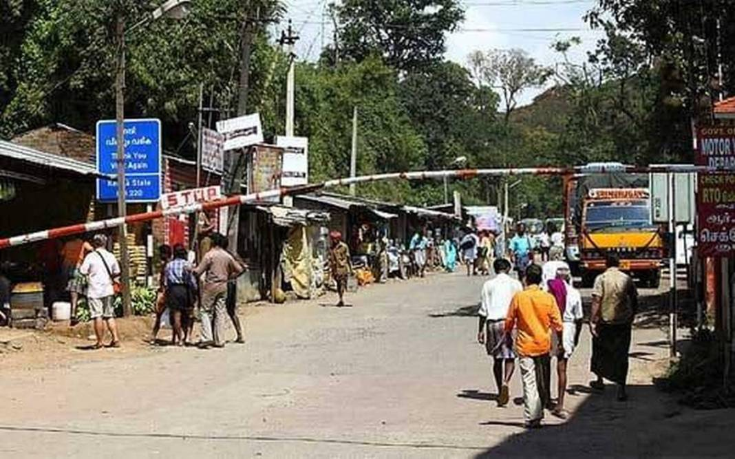Strict screening on Assam Border of Truck drivers.