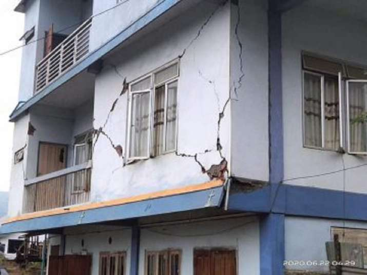 Two back to back earthquake in Mizoram