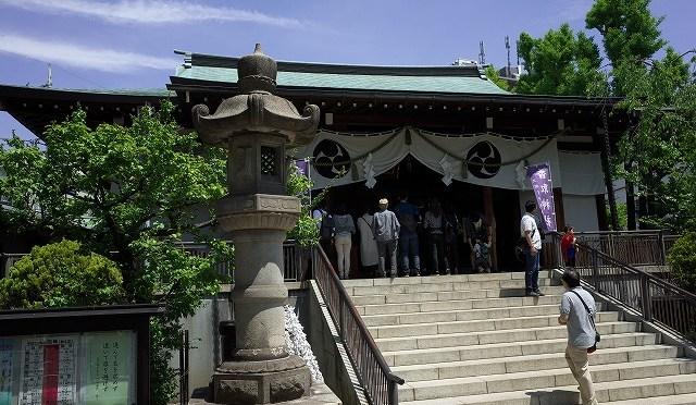 御朱印おやぢ・亀戸香取神社の勝矢祭と亀戸の街並み