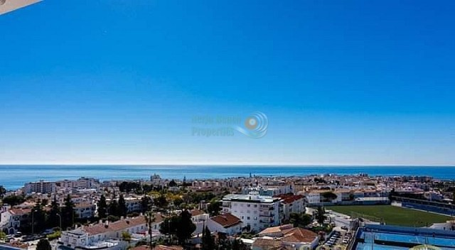 Nerja apartment 2 bedrooms sea view facing west just outside centre