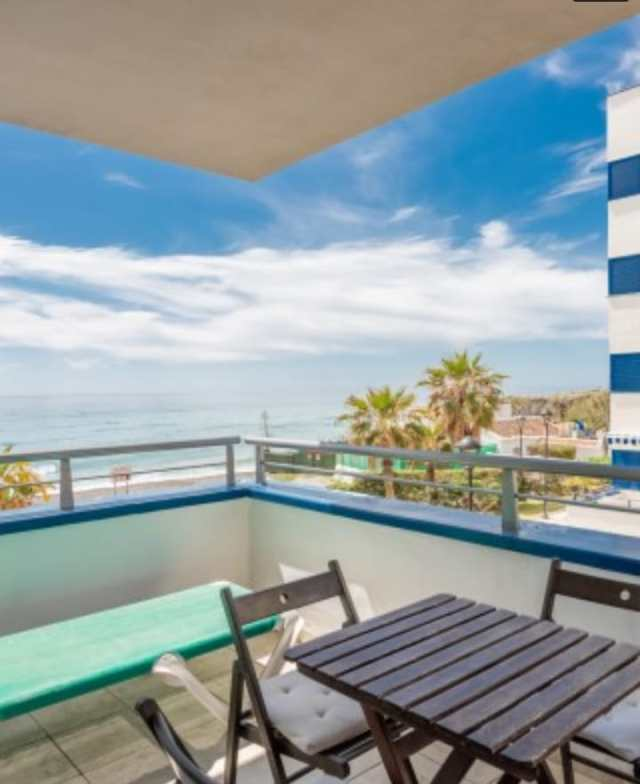 Torrox Penoncillo apartment frontline beach 3 bedrooms with terraces, sea view and garage