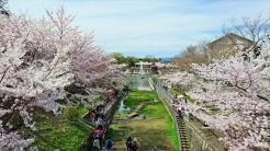 琵琶湖疎水記念館前