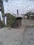 Έξοδος του νερού από το χώρο πλύσης