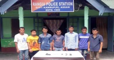 7 एनडीएफबी(एस) सदस्य गिरफ्तार