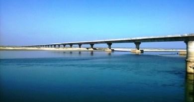 भूपेन हजारिका पुल पर कड़ी सुरक्षा