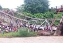 डिमापुर में चाथे नदी पर बना पुल टूटा, चार लोगों की मौत