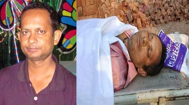 त्रिपुरा- अगरतला में पत्रकार सुदीप दत्ता भौमिक की हत्या