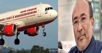 मणिपुर के सीएम समेत 160 यात्री बाल बाल बचे, एयरइंडिया के विमान से टकराया था पक्षी