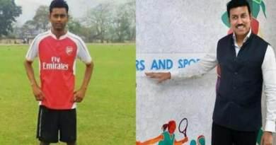 असम : फुटबॉल खिलाड़ी सुमीत राभा के इलाज लिए आगे आया खेल मंत्रालय