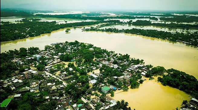 NORTH EAST FLOOD : उत्तर-पूर्वी राज्यों में बारिश का कहर जारी , अब तक 22 की मौत