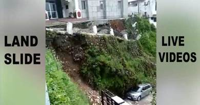 Landslides LIVE videos: जो हमेशा के लिए कैमरे में क़ैद हो गए