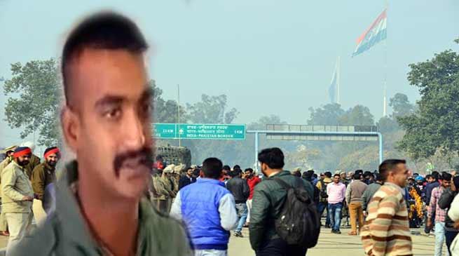 Abhinandan LIVE : विंग कमांडरअभिनन्दन भारत लौटे