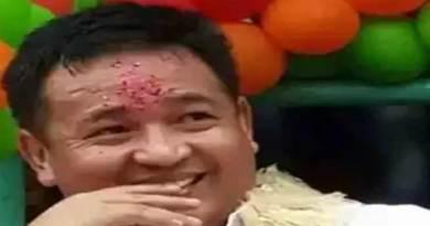 सिक्किम के सीएम प्रेम सिंह तमांग पहुंचे हरियाणा के पहाड़ी माता मंदिर