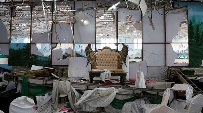 काबुल: शादी समारोह में बम धमाका 40 की मौत, 100 से अधिक घायल