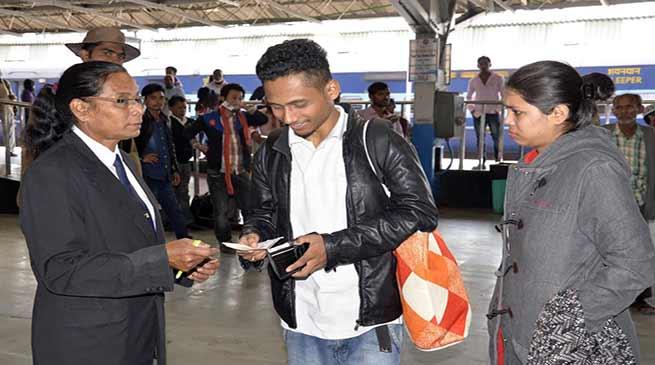 असम: NFR ने टिकट रहित यात्रियों से 39 करोड़ रुपये जुर्वमाना सूला