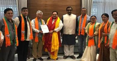 BREAKING-  सिक्किम: चामलिंग की पार्टी SDF के 10 विधायक BJP में शामिल