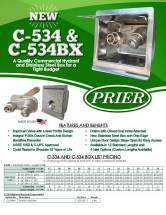Prier C-534 and 534BX flyer