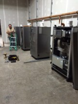 NTI Boilers being installed in Utica, NY