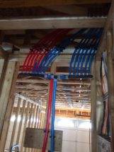 Uponor AquaPEX with manifolds