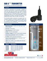 SJE Rhombus Sub-X-Transmitter Sell Sheet Back