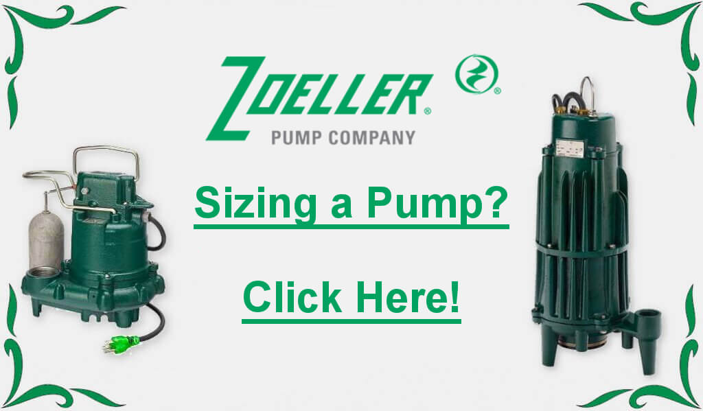 Zoeller pump sizing badge link