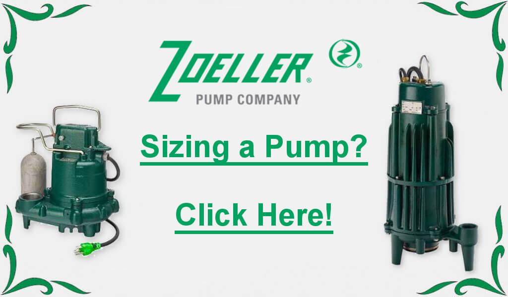 Zoeller pump sizing badge link