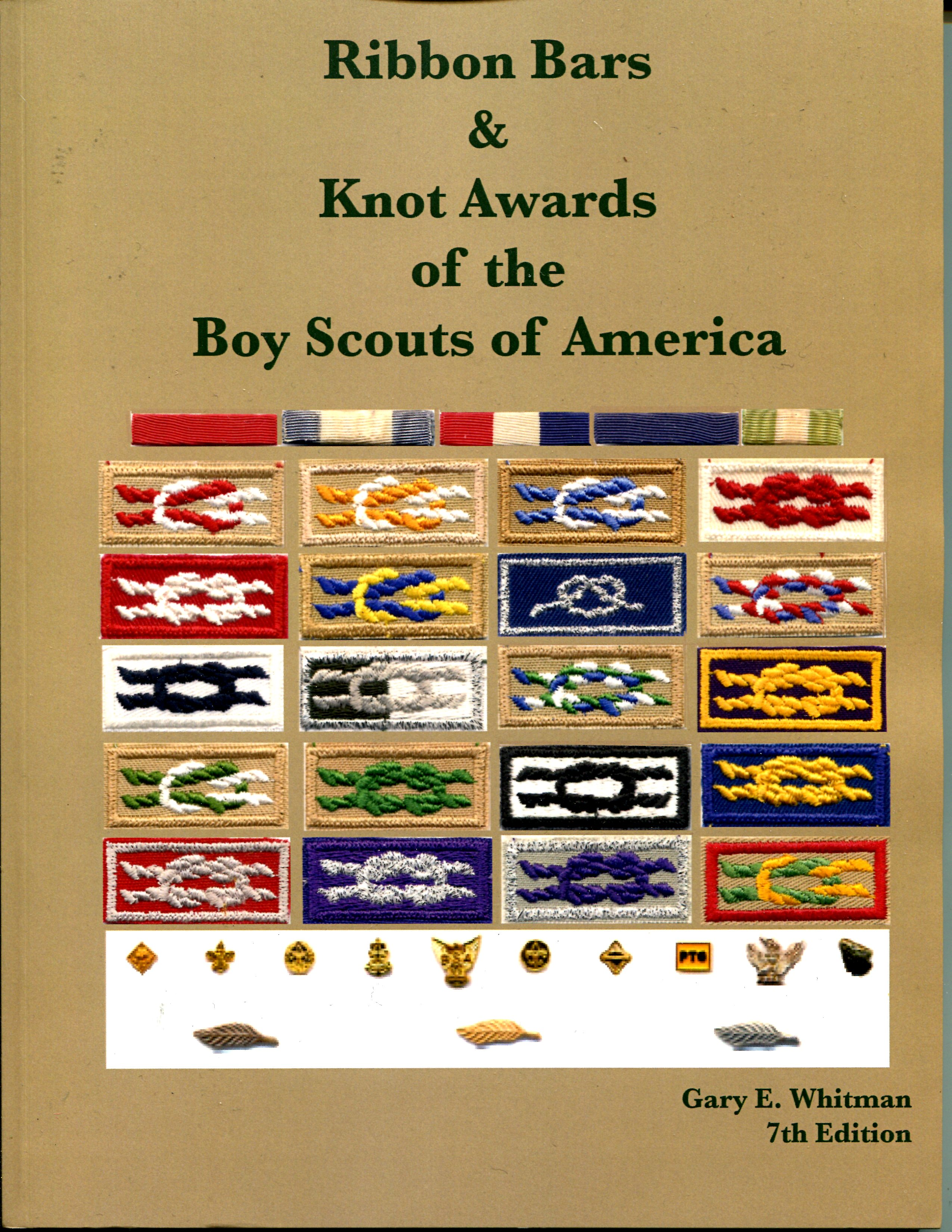 Ribbon Bars And Knots Of The Boy Scouts Of America