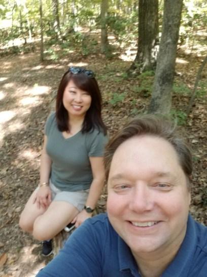 Will Nesbitt with Julie