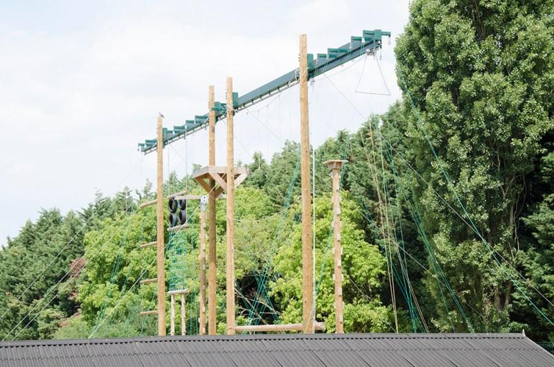nescot filming location epsom surrey climbing high ropes
