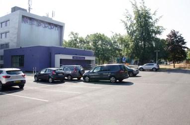 Film location nescot ewell epsom surrey college car park theatre