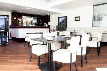 Indian restaurant for film location use. Plenty of natural light, free parking. Ewell, Epsom.