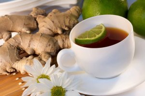 Имбирь в элитных сортах чая