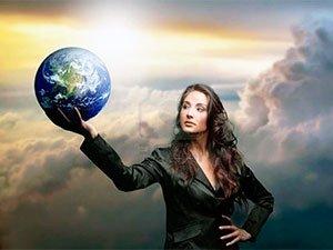 Современная деловая женщина - амазонка