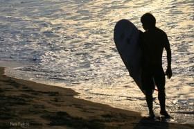 surfer boy Philippines beach