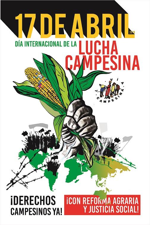 17-ти април: Международен ден на земеделските борби
