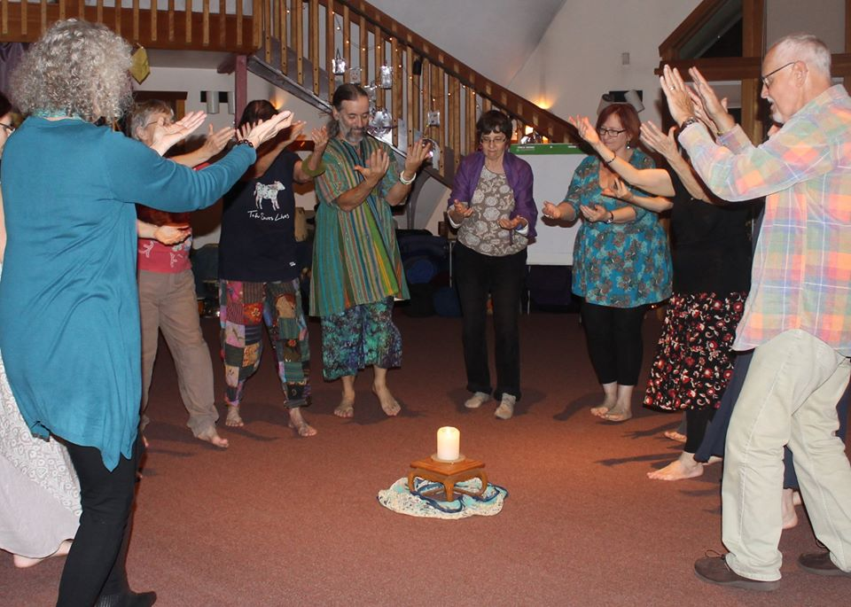 sacred circle-circle dance-world dance-ongoing events-unity-altar