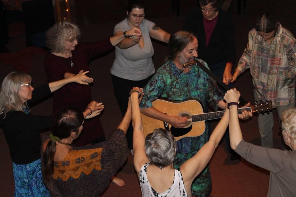 music-dancing-circle dance-acoustic-