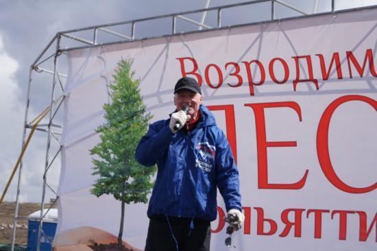 Николай Ренц: памятный лес станет выражением благодарности нашим предкам