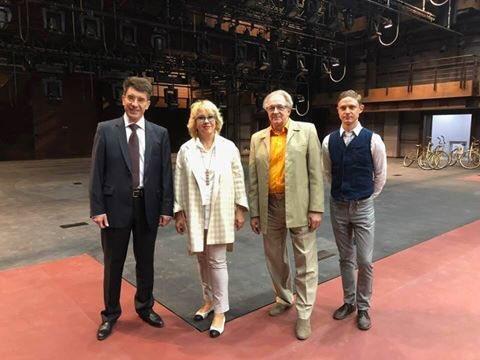 Гендиректор «Золотой маски» посетила новую сцену театра «СамАрт»