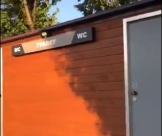 В Струковском саду проблемы с «мундиальными» туалетами