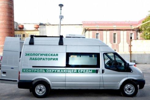 Передвижная экологическая лаборатория снова на дорогах Тольятти