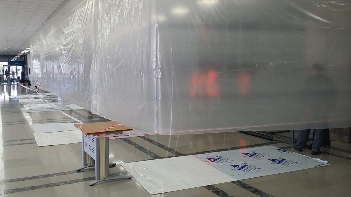 На АВТОВАЗе обновляют фойе заводоуправления