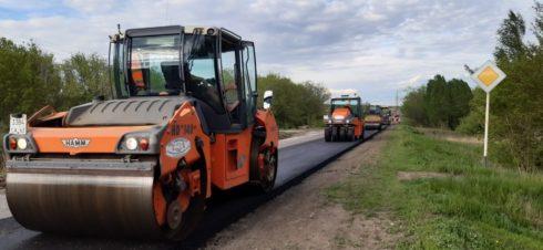 В Самарской области начался еще один масштабный дорожный ремонт