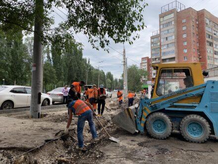 В Самаре обновляют улицу Стара-Загора