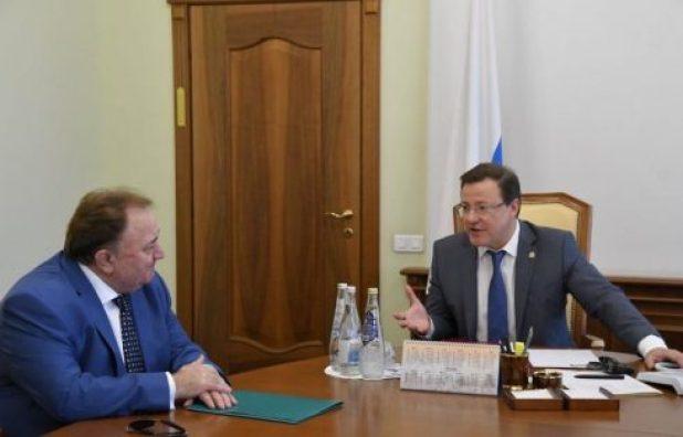 Дмитрий Азаров встретился с Главой Ингушетии Махмудом-Али Калиматовым