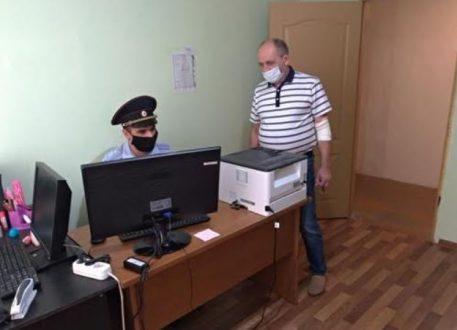 Общественники продолжают посещать территориальные отделы полиции в Самарской области