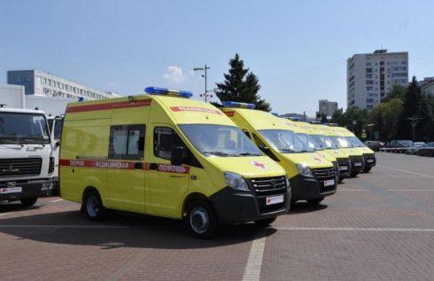 Автомобильный парк скорой помощи в Самарском регионе обновлен почти на 90%